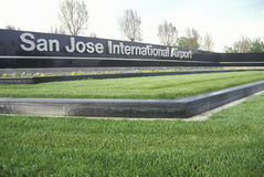 San Jose International Airport, San Jose, Kalifornien stockbilder
