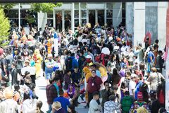 San Jose McEnery Convention Center durante Fanime Fotos de Stock