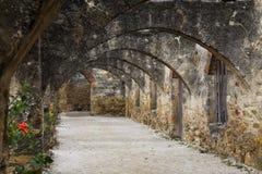 San Jose Mission Arches i San Antonio, Texas royaltyfria bilder