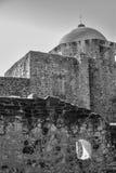San Jose Mission en noir et blanc photo libre de droits