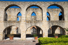 San jose mission in san antonio texas. Medieval spanish arches at the san jose mission in san antonio texas Stock Images