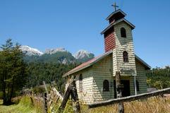 San Jose Obrero Church - Santa Lucia - Chile stock photography
