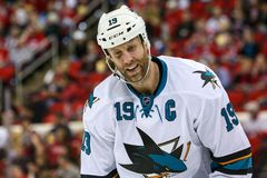 San Jose Sharks center Joe Thornton Royalty Free Stock Photo