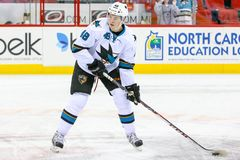 San Jose Sharks center Tomas Hertl Royalty Free Stock Image