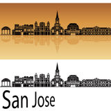 San Jose skyline Stock Photo