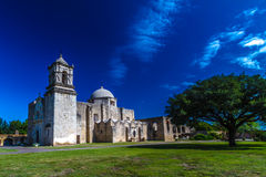 San Jose Spanish Mission, TX Stock Photo