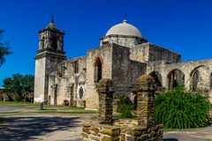 San Jose Spanish Mission, TX Stock Photos