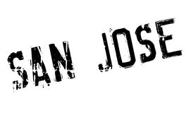 San Jose stamp Stock Photo