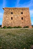 San Jose torn i den Nova Tabarca ön Spanien royaltyfri bild