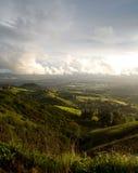 San Jose y colinas después de la tormenta Imagen de archivo