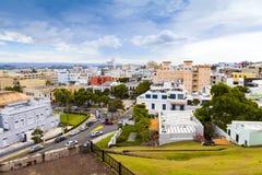 San Juan Aerial View Stock Photo
