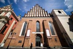 San Juan Archcathedral en Varsovia Fotos de archivo libres de regalías