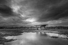 San Juan Autocinema, près d'Aviles, les Asturies au nord de l'Espagne photo stock