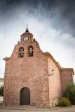 San Juan Bautista farny kościół w Chequilla Obraz Stock