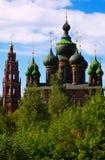 San Juan Bautista la iglesia en Tolchkovo Fotografía de archivo