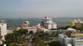 San Juan Bay Foto de Stock Royalty Free