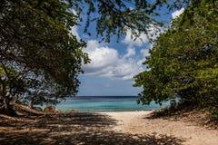 San Juan Beach väg Royaltyfri Fotografi