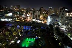 San Juan bij nacht Royalty-vrije Stock Afbeelding