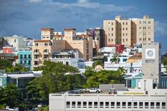 San Juan Buildings Immagine Stock