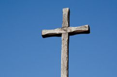 San  Juan Capistrano Mission. An old cross at the San Juan Capistrano Mission in Southern California Stock Photography
