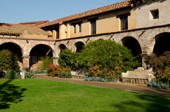 San Juan Capistrano Mission Royalty Free Stock Photo