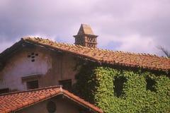 San Juan Capistrano Mission in California del sud Fotografia Stock