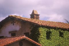 San Juan Capistrano Mission in Southern California Stock Photography