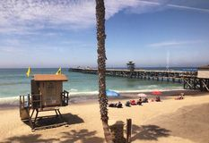 San Juan Capistrano Pier Royalty Free Stock Photo