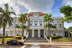 San Juan Casino. Historic building Antiguo Casino de Puerto Rico in San Juan, in Beaux Arts architecture Stock Photo