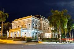 San Juan Casino at night. Historic building Antiguo Casino de Puerto Rico in San Juan, in Beaux Arts architecture Stock Photos