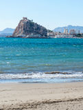 San Juan Castle at Aguilas Royalty Free Stock Photography