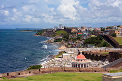 San Juan Cemetary Royalty Free Stock Photos