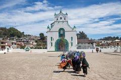 San Juan Chamula, Chiapas, Meksyk zdjęcia stock