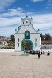 San Juan Chamula, Chiapas, Meksyk obrazy royalty free