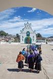 San Juan Chamula, Chiapas, Mexiko stockbild