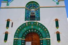 San Juan Chamula Church Chiapas Mexico stock foto's
