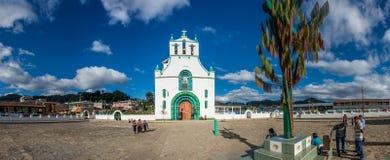 SAN JUAN CHAMULA CHURCH, CHIAPAS, MEXICO - DECEMBER 14, 2015: It Stock Image