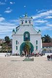 San Juan Chamula, il Chiapas, Messico immagine stock libera da diritti