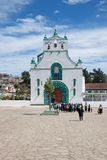 San Juan Chamula, il Chiapas, Messico immagini stock libere da diritti