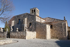 San Juan Church. Pedraza, Segovia, Spain. It was built on the XII century in Romanesque style Stock Photo