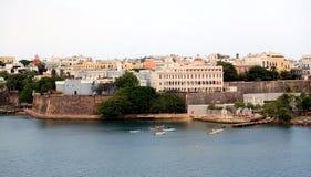 San Juan City. Old San Juan, Puerto Rico royalty free stock photos