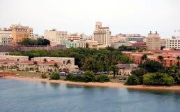 San Juan Cityscape. Old San Juan, Puerto Rico Stock Image