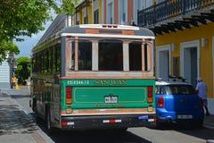 San Juan Ciudad Capital Bus in San Juan, Puerto Rico Stock Image