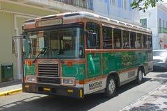 San Juan Ciudad Capital Bus in San Juan, Puerto Rico Stock Photo