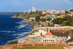 San Juan coastline Royalty Free Stock Photo