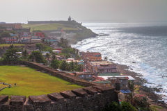 San Juan coastline Royalty Free Stock Photos