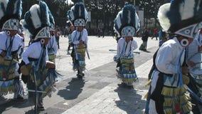 San Juan Dance Group bij La-Villa stock videobeelden