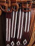 San Juan de Chamula Leather Belts. Photo of leather belts for sale in the town of san juan chamula in chiapas mexico. This town offers for sale many types of stock photography