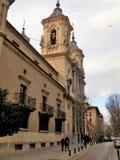 San Juan de Dios Church-Granada-Andalusia-Spain. Church where the remains of San Juan de Dios rest Stock Image