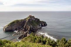 San Juan de Gaztelugatxe Stockfoto